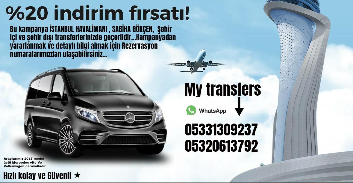 My Transfer VIP Araç Hizmetleri